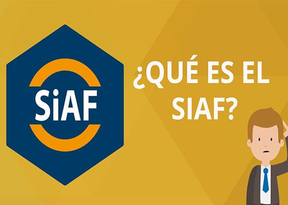 Diplomado de Alta Especialización en SIAF